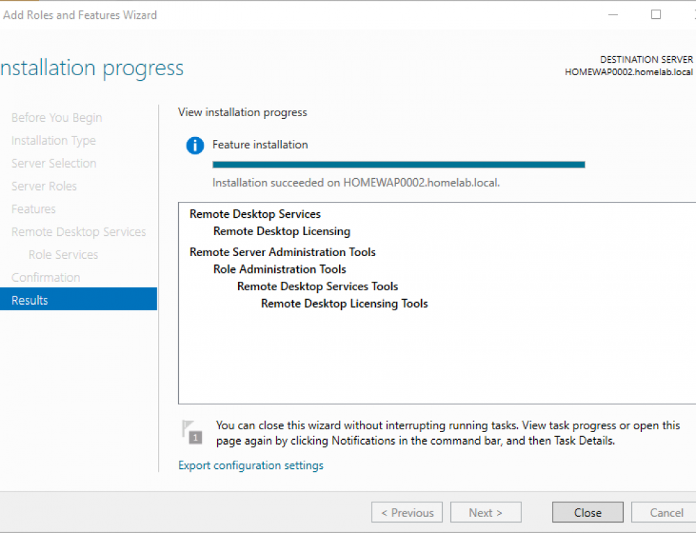 Step by Step – Install Microsoft RDS Licensing on Windows Server 2016